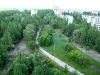 Pripyat City – a view from the nest balcony of the Kestrel