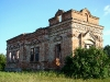 Ruins of Kazanskyi Temple of Women's Monastery in the village Hlynka is a breeding place of a pair of Kestrels