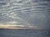 Sky landscape before warming