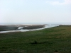 Lake Elton and the Khara river mouth