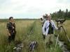 Первый день поисков гнезда большого подорлика на болоте у оз. Сомино