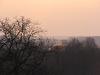 Пойма Десны в Межреченском ранней весной. Вид с гнездового участка чеглоков
