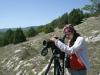 Andreea Sandu - румынский специалист по хищным птицам