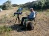 Robert Kazi совмещает наблюдения с отдыхом