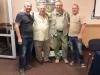 Jan Lontkowski (Польша), Доктор Bernd Meyburg (Германия), Доктор Александр Абуладзе (Грузия) и Сергей Домашевский (Украина) по окончании заседений