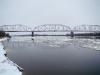 Река Припять в районе Чернобыльской АЭС