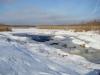 Сток воды с болота в с. Ольшанка