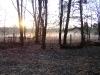 Туман на околице села