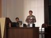 Участников конференции приветствует М.В. Баник