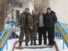 Встреча друзей: слева направо В.Ветров, С. Домашевский, Н. Арсиевич, М. Гаврилюк
