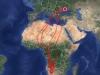 Marina, мапа міграційних переміщень