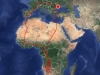 Ringló, мапа міграційних переміщень