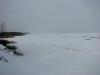 Кременчугское водохранилище замерзло полностью. Фото М. Гаврилюк