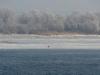 На отмели в морозный день (Каневский заповедник). Фото М. Гаврилюк