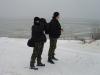 На берегу замерзшего водохранилища (Н. Борисенко, А. Илюха)