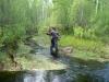 Переходим речку Болотницу (фото Ю. В. Кузьменко)