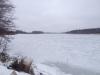 Річка Прип'ять майже на всіх ділянках вкрита льодом