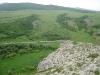 Вид с гнездовой скалы балобана