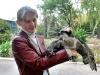 Скопа, подстреленная на Черниговщине и переданная в Менский зоопарк (фото с сайта http://www.gorod.cn.ua/news_29300.html)