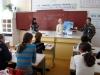Выступление о балобане в сельской школе