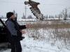 Выпуск окольцованной птицы